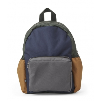 School Backpack Wally Navy Mix