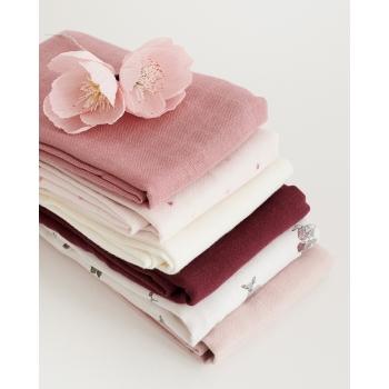 Muslin Cloth 2-pack - Fawn, Berry, Cream