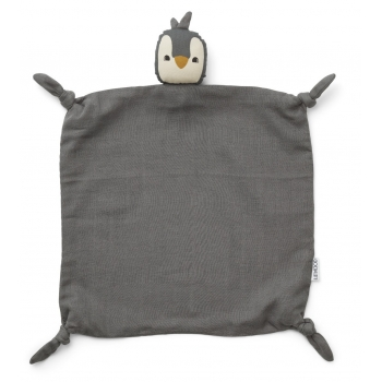 Agnete Cuddle Penguin Stone Grey