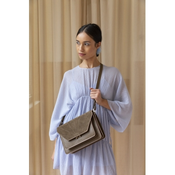 Olive Green Satchel - The Sticky Sis Club