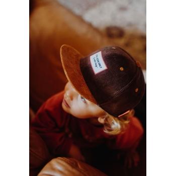 Sweet Brownie Velvet Cap