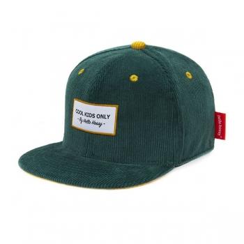 Sweet Emerald Velvet Cap