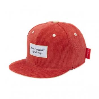 Sweet Terracotta Velvet Cap