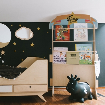 Puppet Theater & Bookshelf - Fantasy Bakery Shop