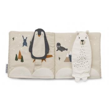 Benny Fabric Book - Arctic Mix