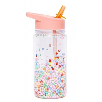 Popsicle Soft Coral Drinking Bottle