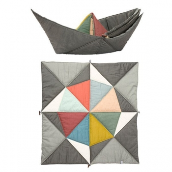 Baby Crawling Blanket & Play Mat - Multi Play-Fold-Ship