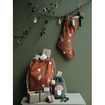 Forest Christmas Stocking