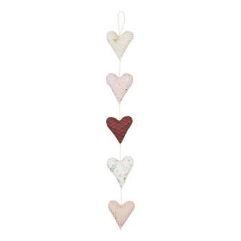 Hearts Garland - Rose Mix