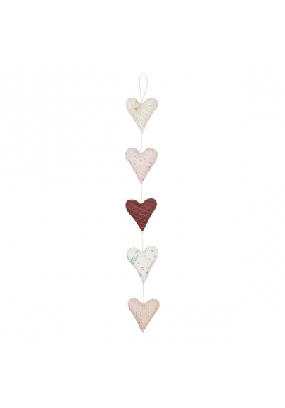 Hearts Garland - Rose Mix