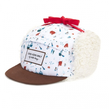 Snow Resort Moumoute Winter Cap