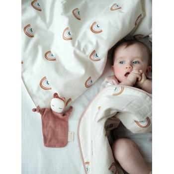 Rainbow Print Baby Bedding