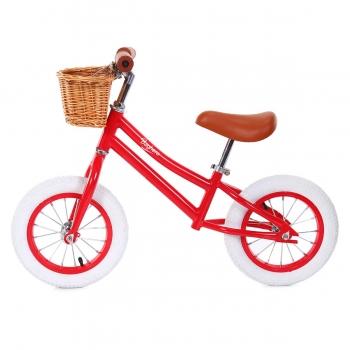 Vintage Balance Bike Red