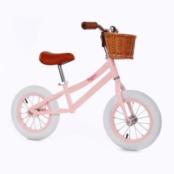 Vintage Balance Bike Pink