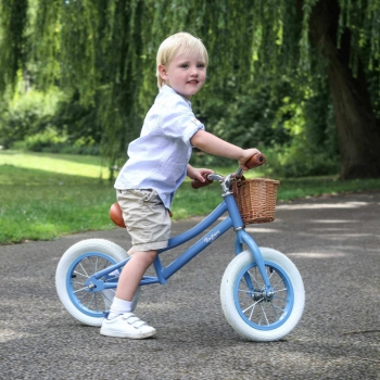 Vintage Balance Bike Light Blue