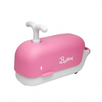 Friendimal Boto - Pink Whale Ride-On Toy