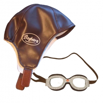 Baghera Hat & Goggles - Racing Kit