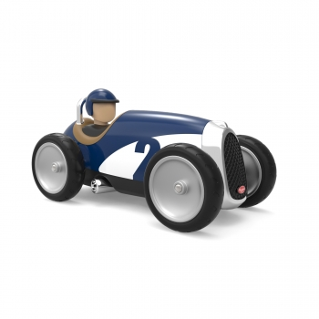 Baghera Vintage Toy Racing Car - Blue