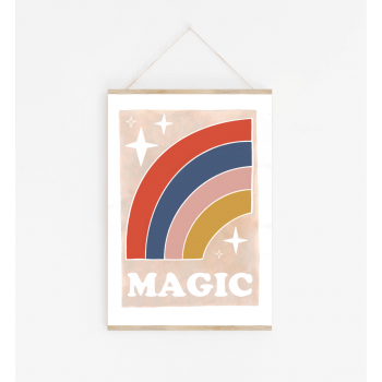 Magic Rainbow Poster A3