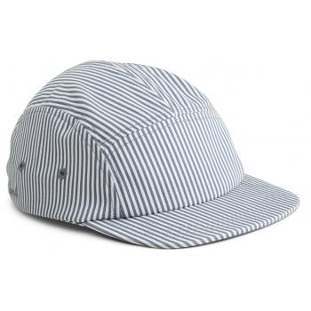 Blue & Cream Stripes Rory Cap