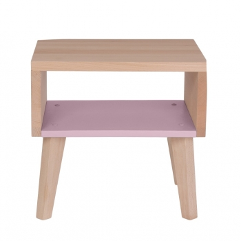 Nightstand & Side Table Underscore - Light Pink
