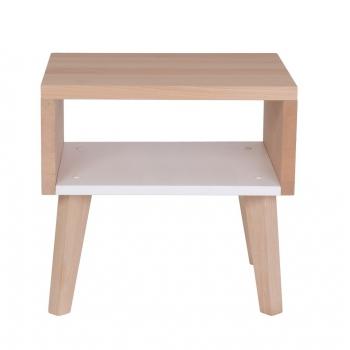 Nightstand & Side Table Underscore - Loft White