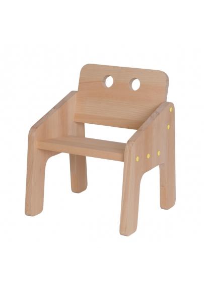 Kids' Armchair Mini Boudoir - Lemon Yellow