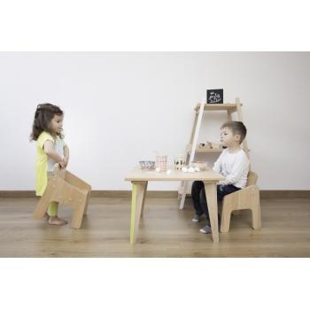 Kids' Armchair Mini Boudoir - Mint green