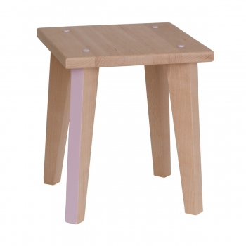 Stool Point Virgule - Light Pink