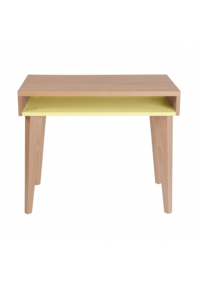 Kids' Desk Trait d'Union - Lemon Yellow