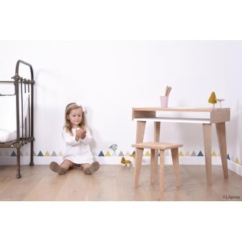 Kids' Desk Trait d'Union - Loft White