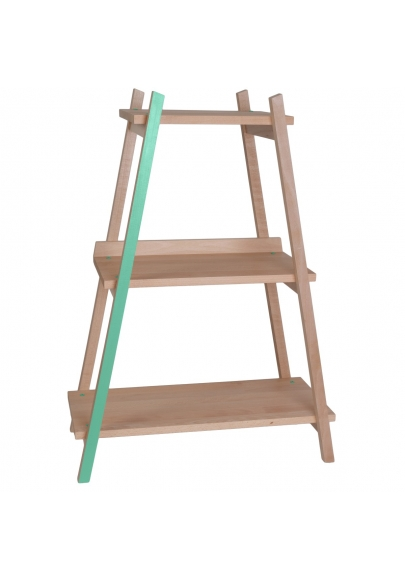 Kids' Shelf Paranthèse - Mint green