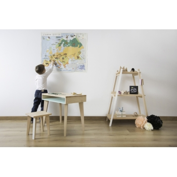 Kids' Shelf Paranthèse - Loft White