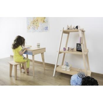 Kids' Shelf Paranthèse - Loft White